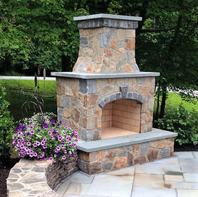Pennsylvania Delaware Chester New Castle County Landscape Contractor Designer Builder Outdoor Kitchen Fireplace Pergola Fire Pit Feature